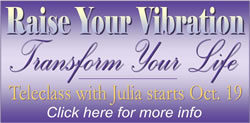 Raise Your Vibration Teleclass